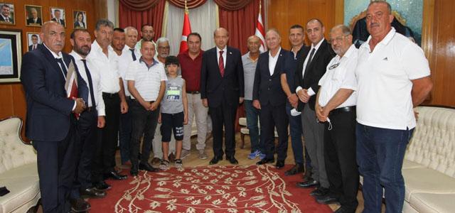 Tatar, Lefke Türk Spor Kulübünü Kabul Etti
