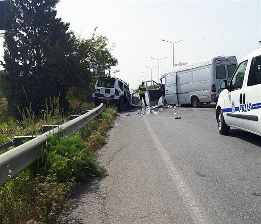 Girne – Lefkoşa anayolunda korkunç kaza!