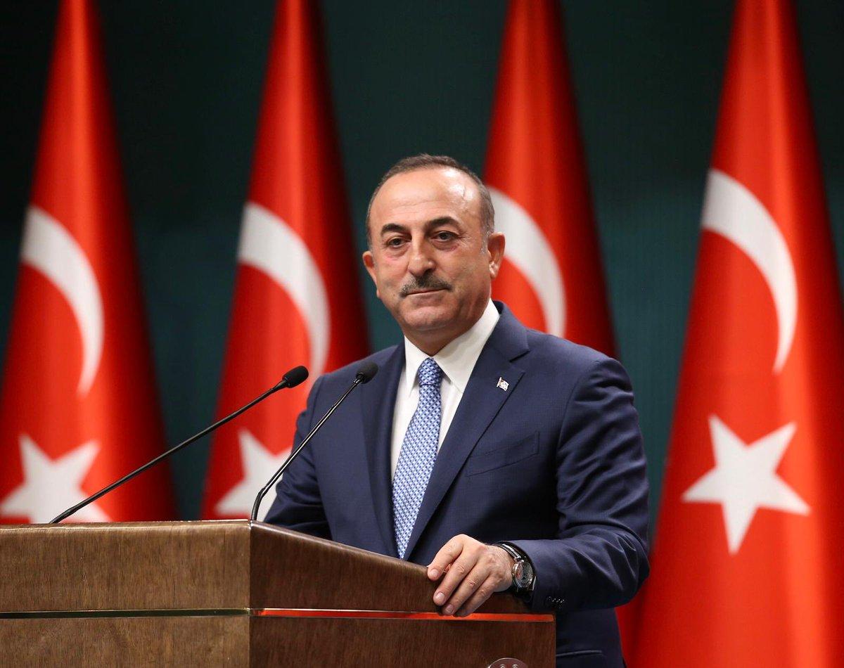 """Çavuşoğlu: """"Yunanistan-Mısır arasındaki 'yetki alanları' anlaşması kıta sahanlığımızı ihlal ediyor"""" sözlerini söyledi"""