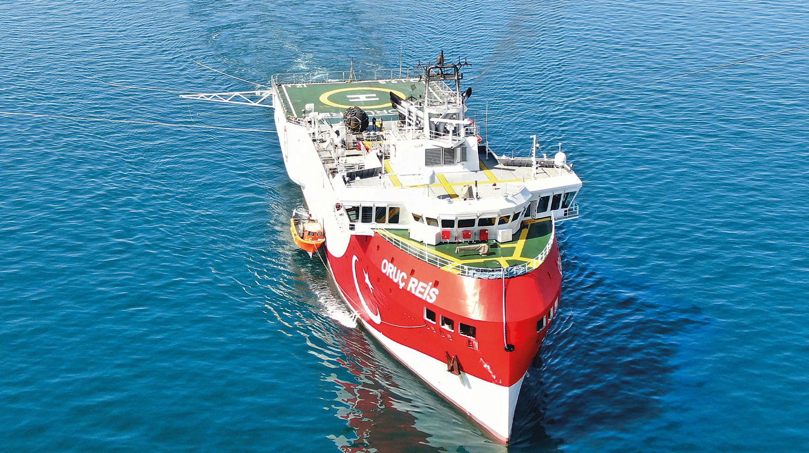 Bakan Dönmez: Oruç Reis Sismik Araştırma Gemimiz, çalışma yapacağı alana ulaştı bilgisini verdi