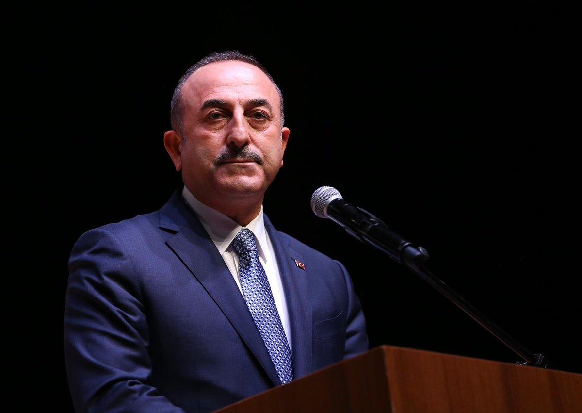 """Mevlüt Çavuşoğlu açıklama yaptı: """"Suçlayacaklarsa Yunanistan'ı suçlasınlar!"""""""