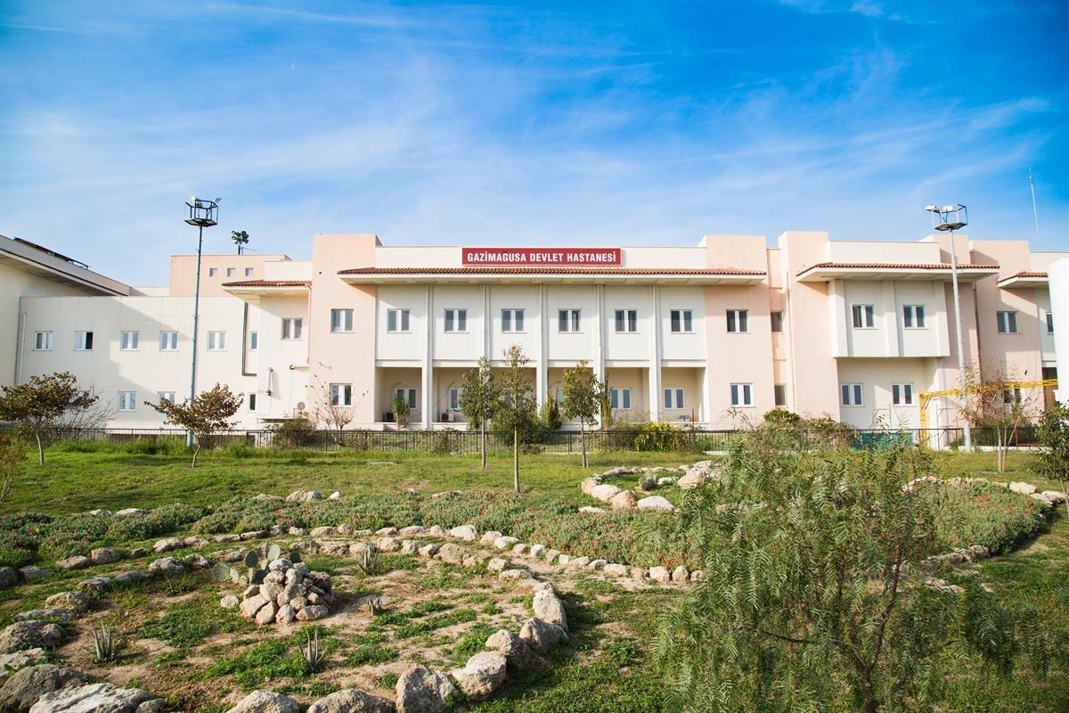 Rum Basını: Mağusa Hastanesi'nde Covid-19 hastaları tedavi görüyor!
