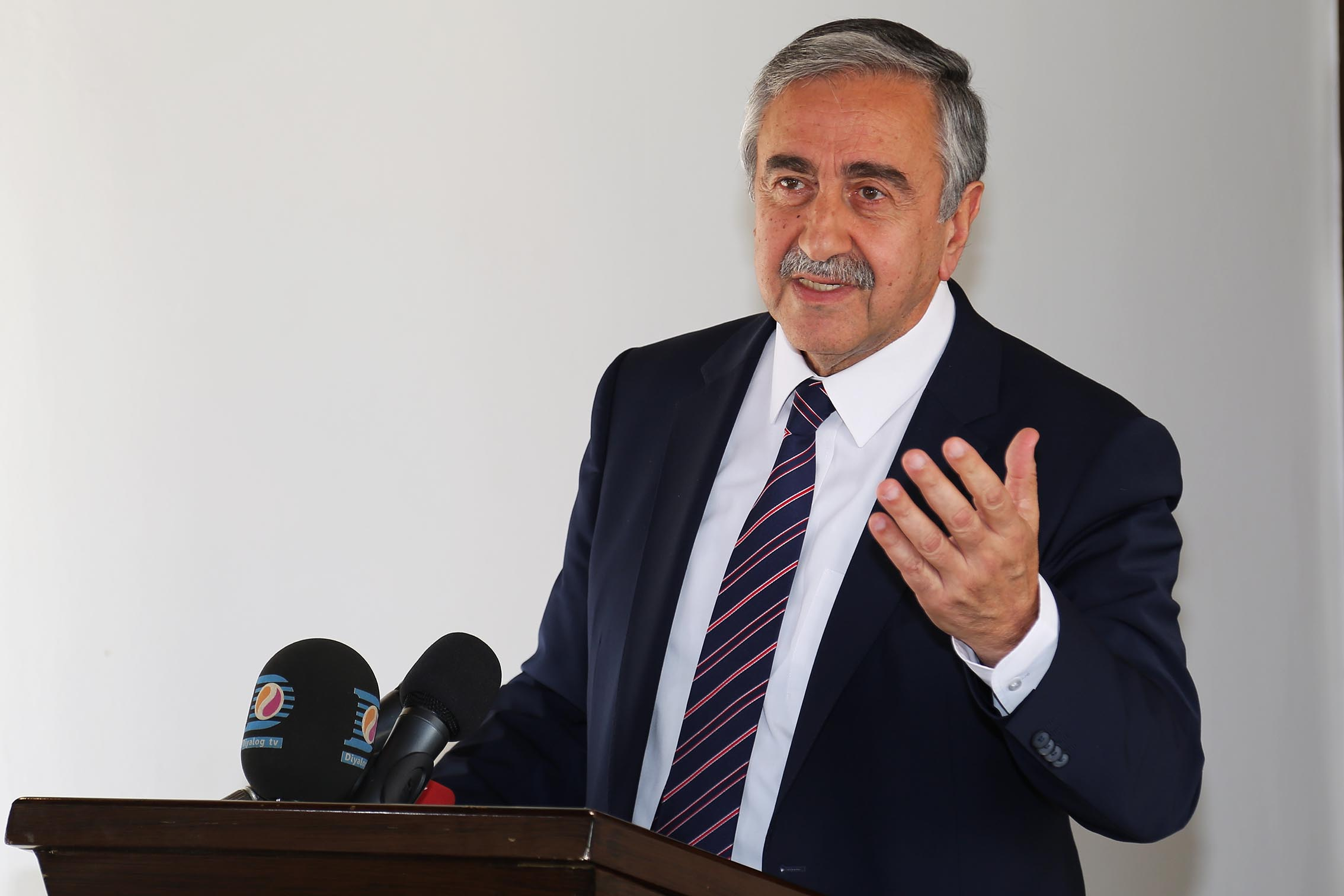 Cumhurbaşkanı Mustafa Akıncı'nın, YÖDAK heyetini kabul ettiği öğrenildi