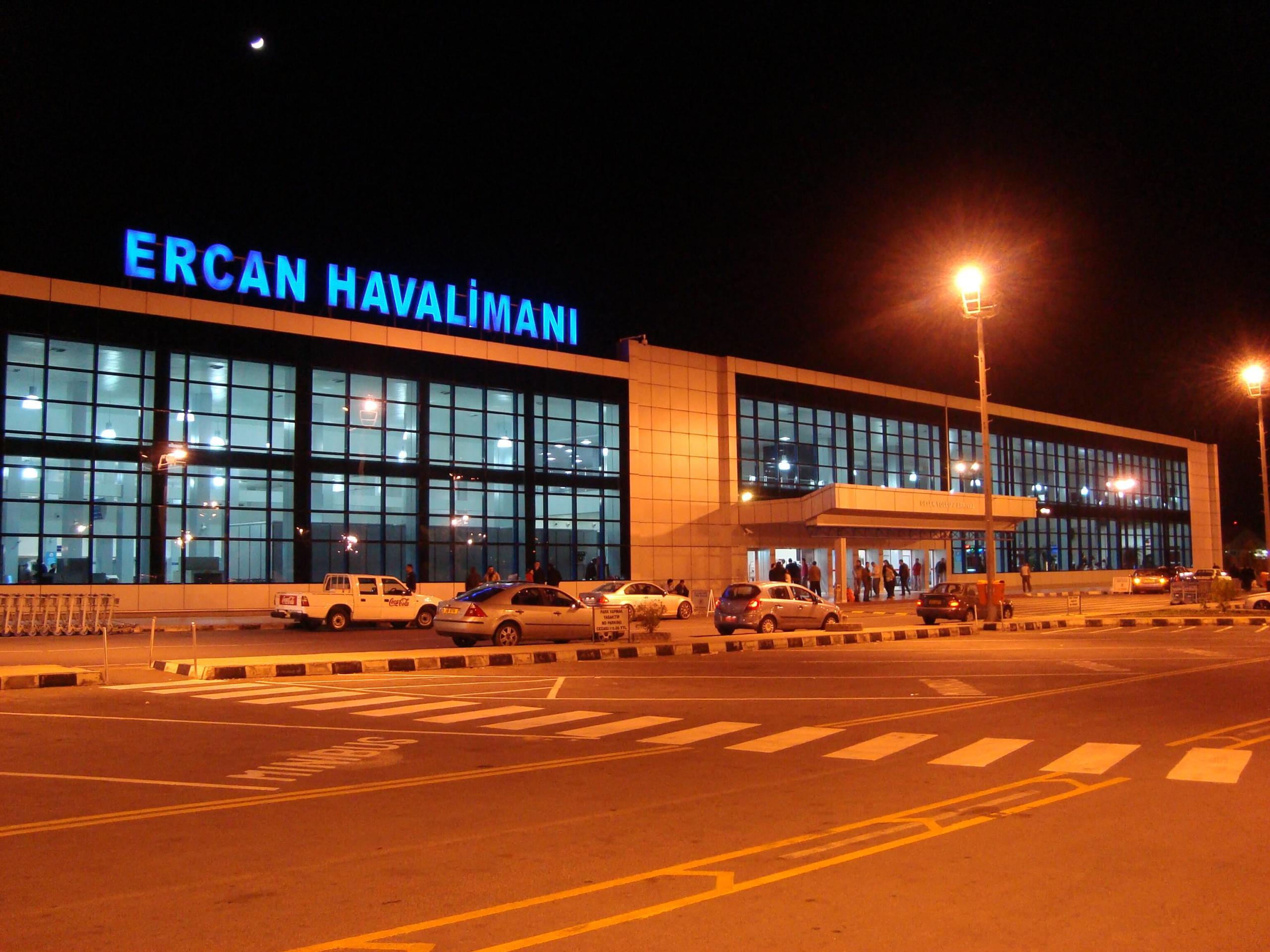 Ercan'da çalışmalara devam