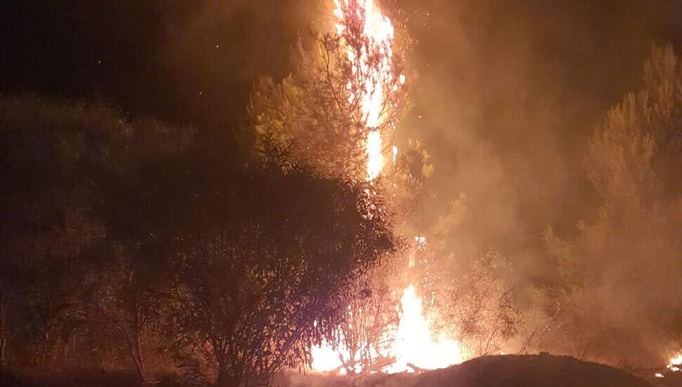 mağusa'da paniğe yol açan yangın!