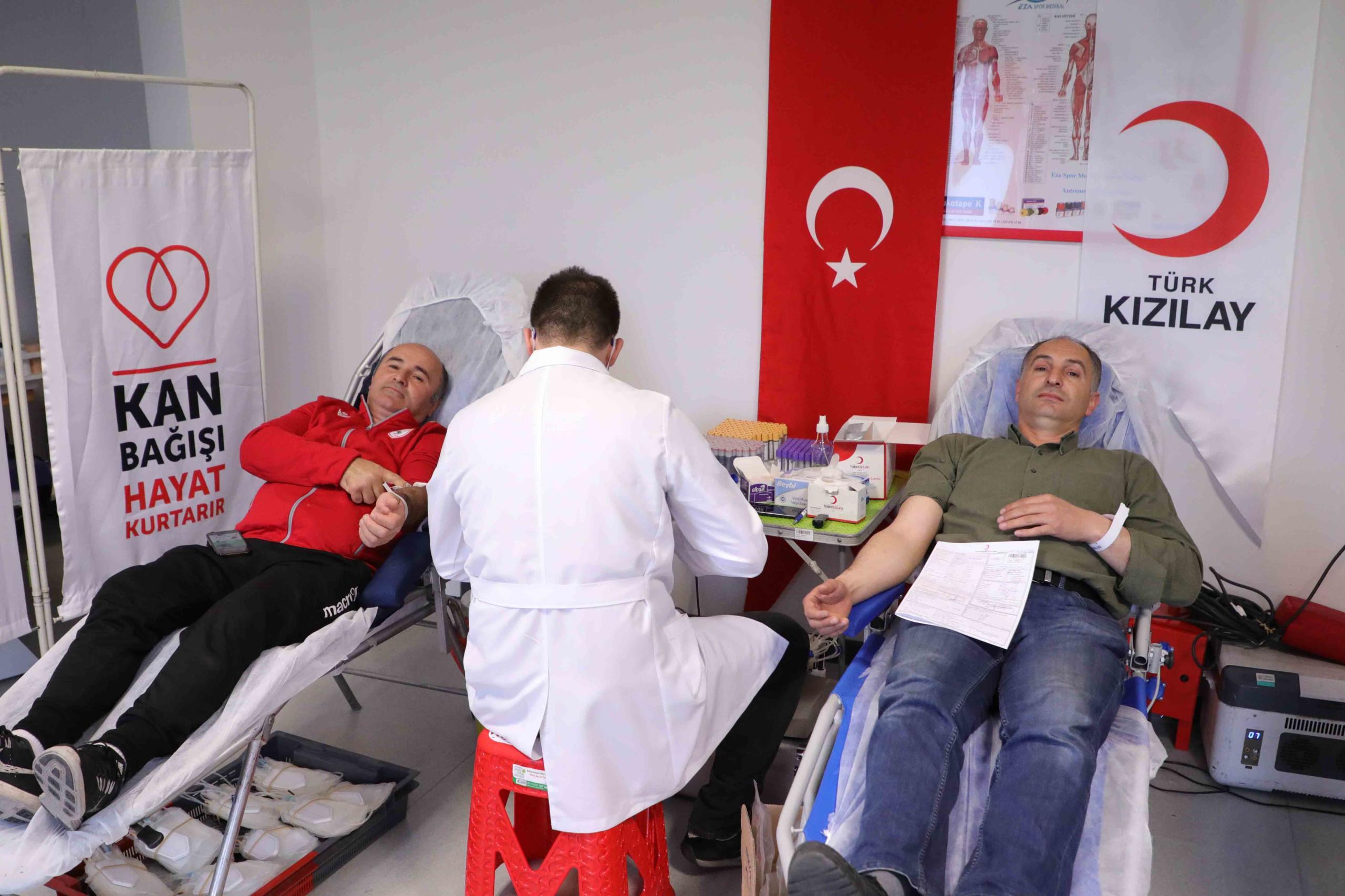 Girne'de kan bağışı!