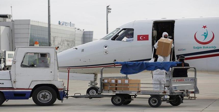 TÜRKİYE'DEN 20 BİN DOZ AŞI!